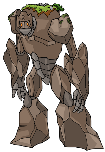 Golem Battle Graphic (RMXP)