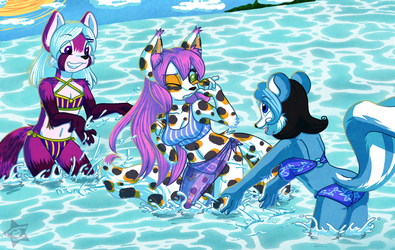 Commission - Hit em with a Splash Attack