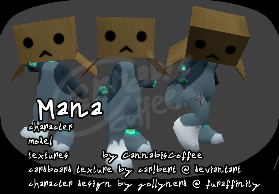 Mana - Low-Poly Model