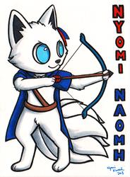 Nyomi Ridicudorable Reboot Badge