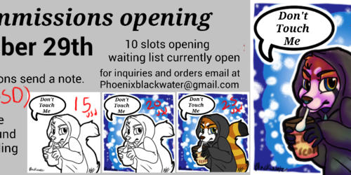 Commissions opening