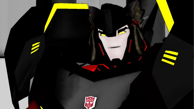 Shadow fang the autobot wolf