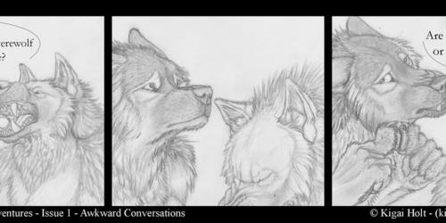 Ordinary Werewolf Adventures - Awkward Ends