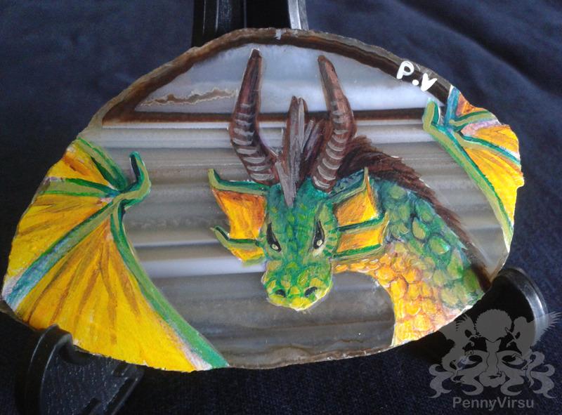 Green Dragon Agate