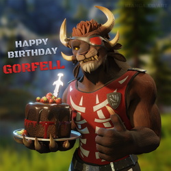Happy Birthday Gorfell