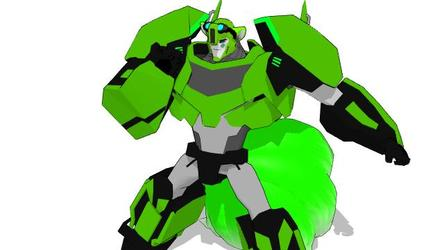 Mike prime the colver kitsune autobot