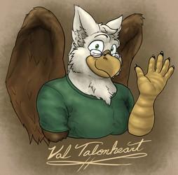 Friendly Feathered Fella -C-