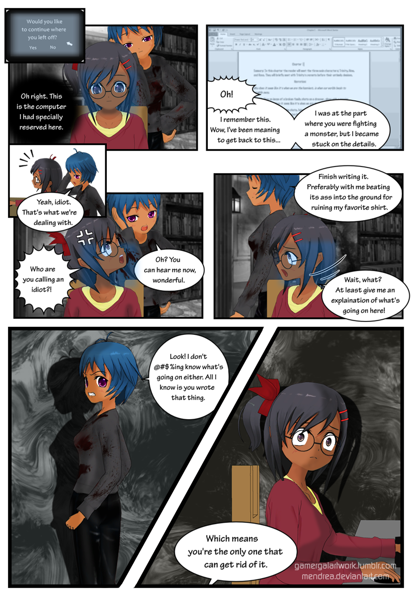 Finding my muses pg 8