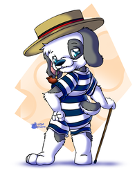 Dapper Beach Barnaby by Tavimunk