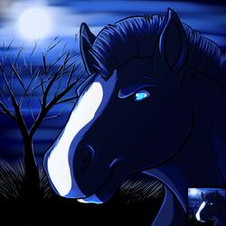 Halloween avatar - Dark horse