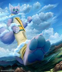 [C] Cloudy Steps