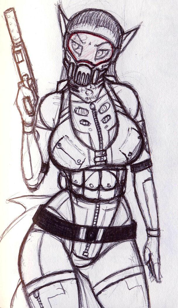 LBB02 - Navy Girl