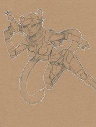 Tone Paper Spacecat