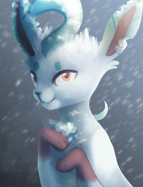 winter leafeon