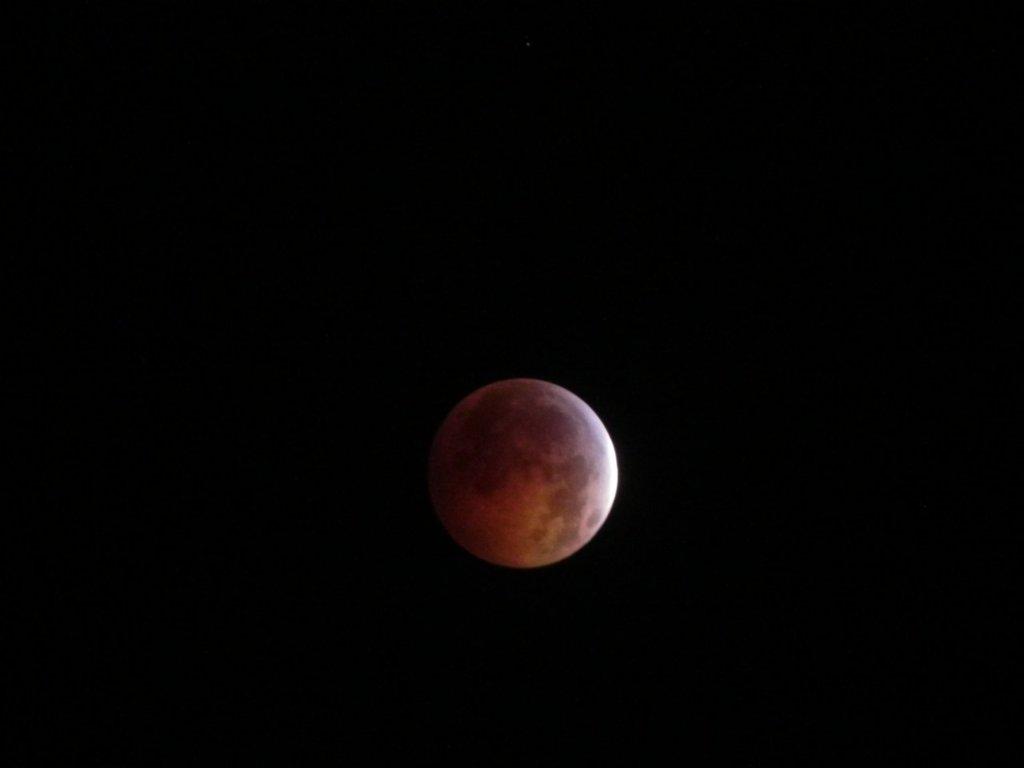 Lunar Eclipse December 21, 2010 3:38AM EST Central Pennsylvania