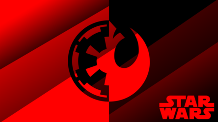 Star Wars Split Wallpaper