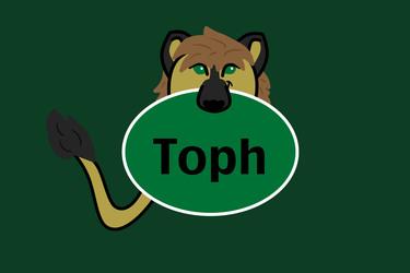 Toph Name Tag Badge