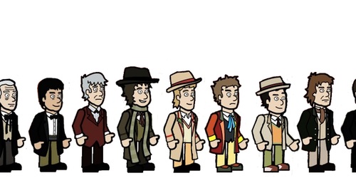all eleven doctors