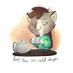 [3/100] Hot Tea on Cold Days