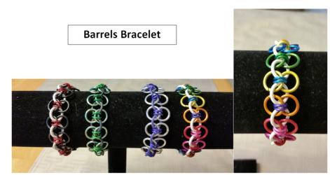 NEW ITEM! Barrels Bracelet