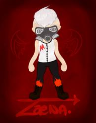 Zaena the Hardcore Mayor of Zaemura [ACNL]