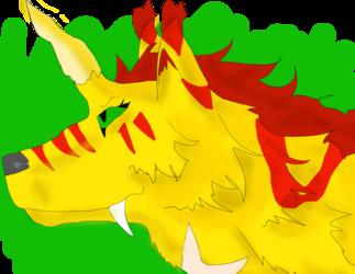 Indomitus Rex Rgis art - Solvara Headshot