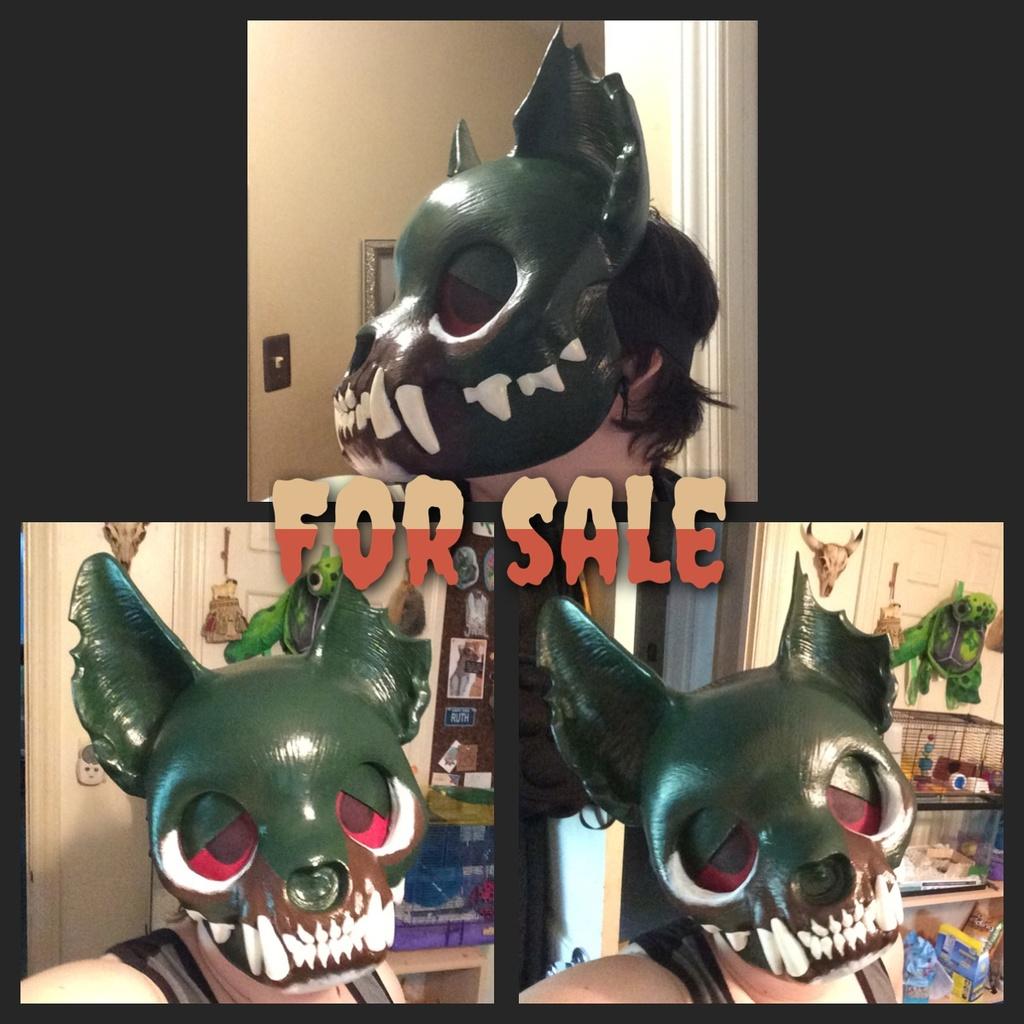 Miss Monster mask (SOLD)