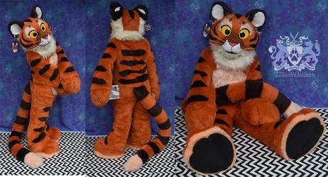 Plush Tiger Fursuit 2
