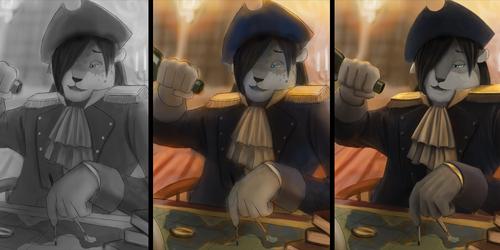 Drunken Captain - Progression