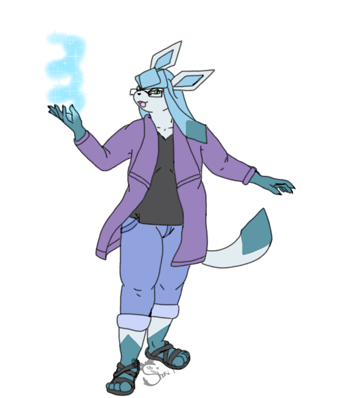 Most recent image: Colored Sketch: Glaceon