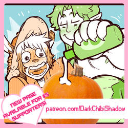 Pumpkin + Kabocha - PAGE 10 IS UP FOR PATRONS!