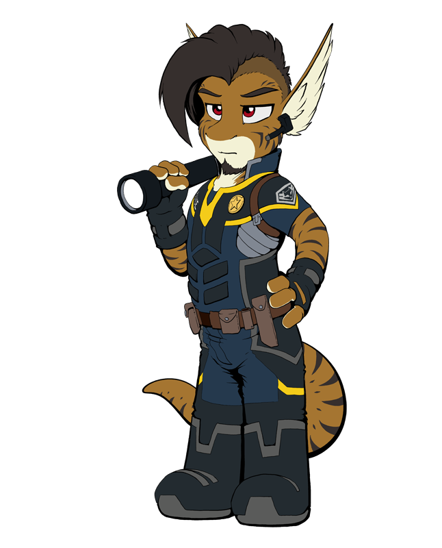 Kemono Police Officer Rei