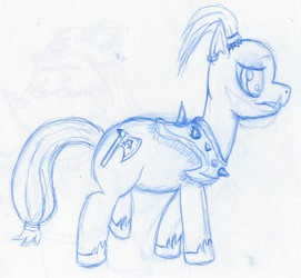 WOW Orc Pony (Sketch)