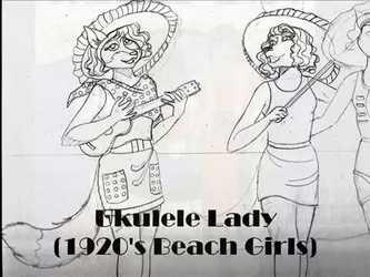 1920's Beach Girls