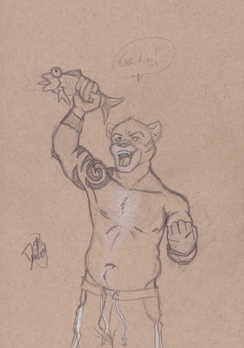 $5 Sketch---Philodidelphis