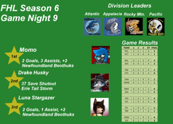 FHL Season 6 Game Night 9