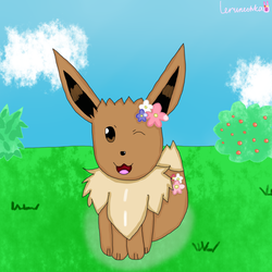 Female Eevee again!
