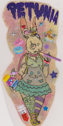 Kawaii Sticker Explosion Badge - Pankeye