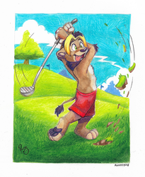 Golfing with Nbowa