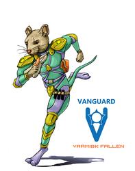 VANGUARD RPG - Drexter Sash, pilot