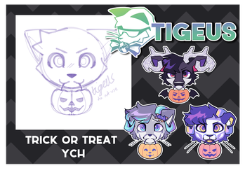 Trick or Treat YCH!