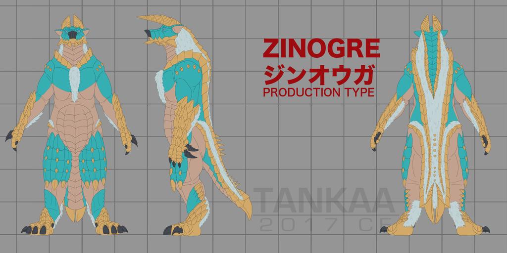 Zinogre v6 - Production Type