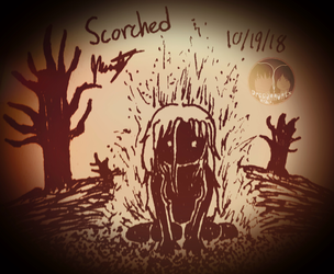 """Inktober 2018 - Day 19 """"Scorched"""""""