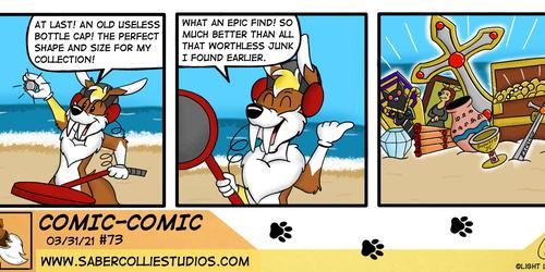 Comic-Comic #73 (3/31/21)