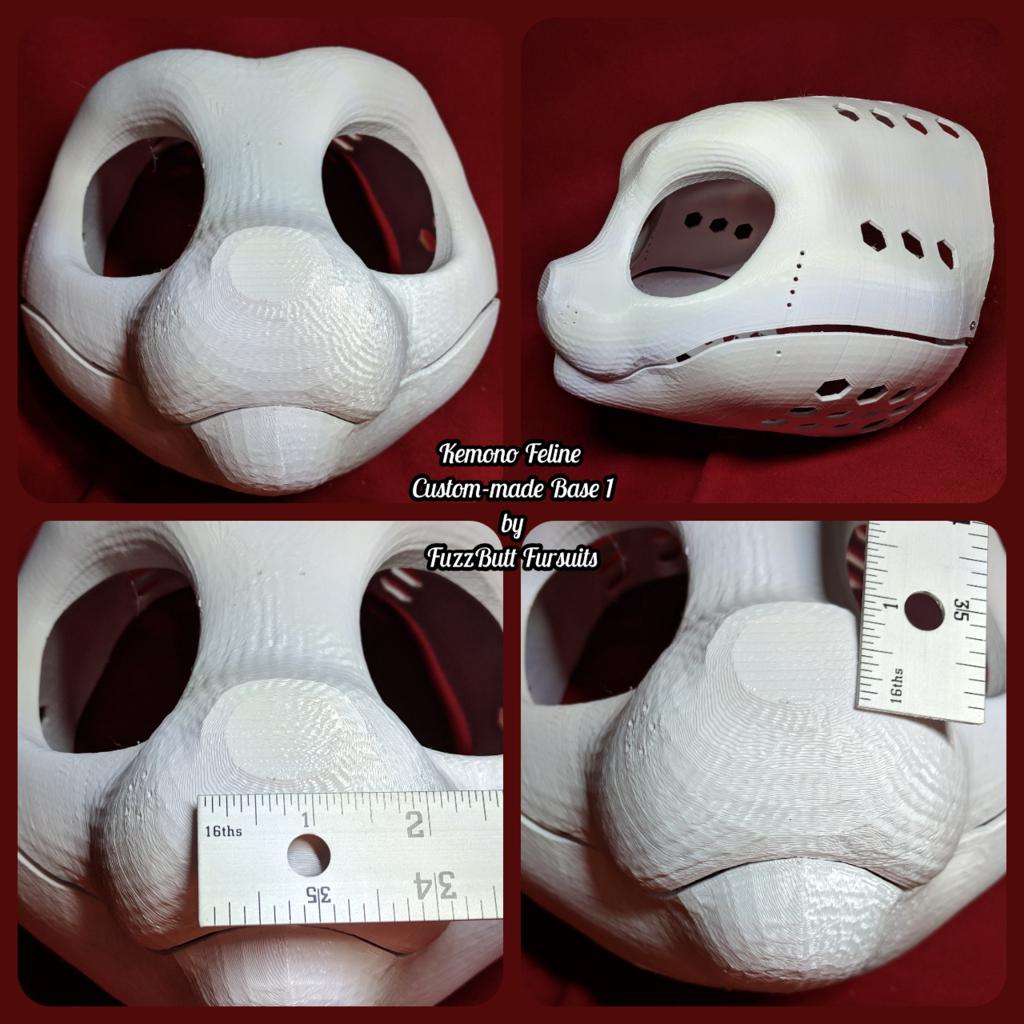 Kemono Feline Custom-made Noseless Base 1