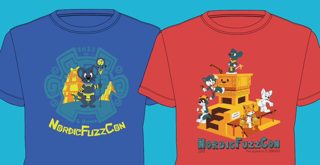 NordicFuzzCon shirts