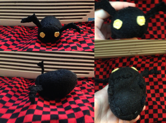 Kingom Hearts Heartless tsum made for myself
