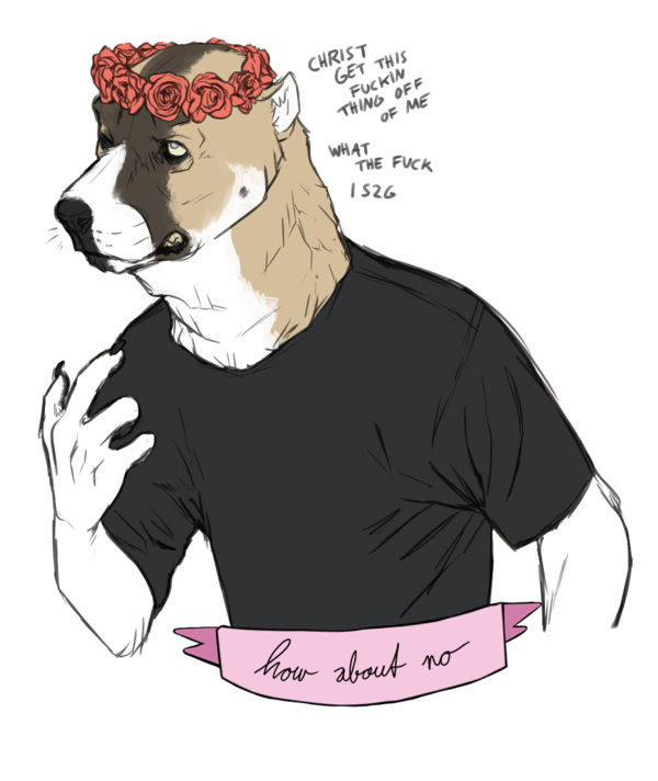 flower crown overlord