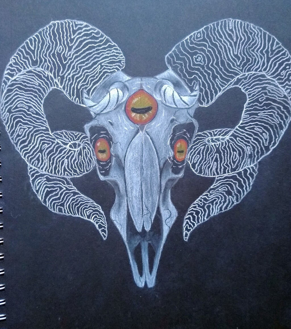 Ram Skull 5