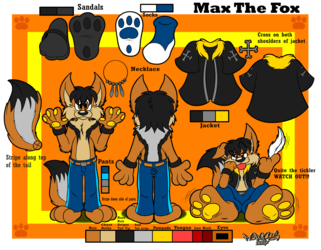 Max The Fox Reference